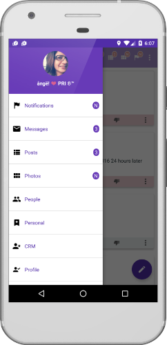 oYari Android app